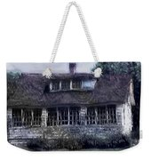 Rainy Day Long Ago House Weekender Tote Bag