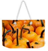 Rainy Day Pumpkins Weekender Tote Bag