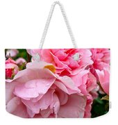 Rainy Day Roses Weekender Tote Bag