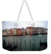 Rainy Day View From Palazzo Grassi Weekender Tote Bag