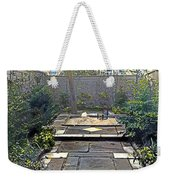 Rainy Day With Rabbit And Chair Weekender Tote Bag