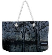 Rainy Days And Mondays- Feature-barns Big And Small-visions Of The Night-photography And Textures Weekender Tote Bag