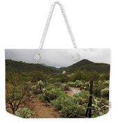 Rainy Desert Weekender Tote Bag