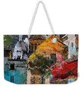 Rainy Evening In Montmartre Weekender Tote Bag