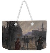 Rainy Evening On Hennepin Avenue Weekender Tote Bag