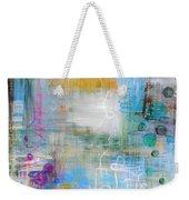 Rainy Garden Weekender Tote Bag
