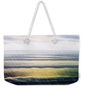Rainy Seascape Weekender Tote Bag