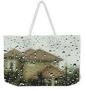 Rainy Tropics Weekender Tote Bag