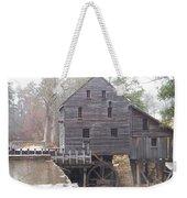 Rainy Yates Mill Weekender Tote Bag