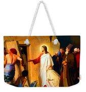 Raising Of Lazarus Weekender Tote Bag