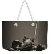 Raising The Flag On Iwo - Front Weekender Tote Bag