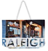 Raleigh At The Mecca Weekender Tote Bag