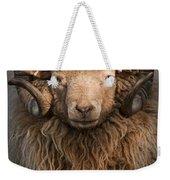 Ram Portrait Weekender Tote Bag