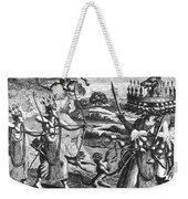 Rama, Seventh Avatar Of Vishnu Weekender Tote Bag