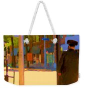 Ramacieri Soligo Building Supplies Rue Van Horne Outremont Montreal Street Scene Art Carole Spandau Weekender Tote Bag