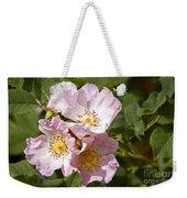 Rambling Rose 3 Weekender Tote Bag