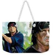 Rambo Artwork Weekender Tote Bag