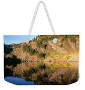 Rampart Ridge In Rachael Lake Weekender Tote Bag