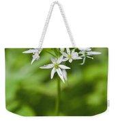 Ramsons Wild Garlic Allium Ursinum Weekender Tote Bag
