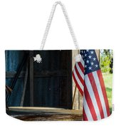Ranch Flag Weekender Tote Bag
