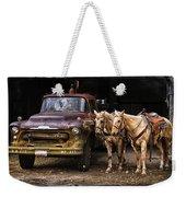 Ranch Transportation Weekender Tote Bag