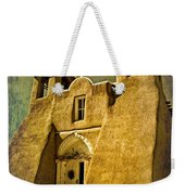 Ranchos Church In Old Gold Weekender Tote Bag