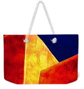 Ranchos In Orange And Yellow Weekender Tote Bag by Carol Leigh