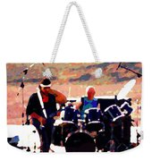 Randy And Ed And The White Elephant Weekender Tote Bag