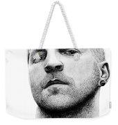 Randy Armstrong Weekender Tote Bag by Kayleigh Semeniuk