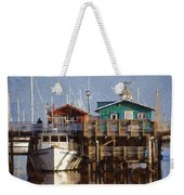 Randys Whale Watching And Fishing Trips Watercolor Weekender Tote Bag