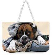Ranger Danger Fresh Weekender Tote Bag by Stephanie McDowell
