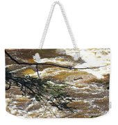 Rapids Of The Swift River Kancamagus Hwy View White Mountains Nh Weekender Tote Bag