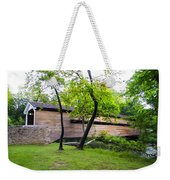 Rapps Covered Bridge Over French Creek Weekender Tote Bag
