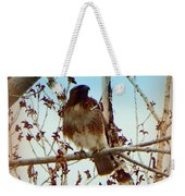Raptor Perched Weekender Tote Bag
