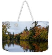Raquette River Reflections Weekender Tote Bag