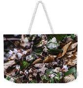 Rare Spring Beauty Weekender Tote Bag