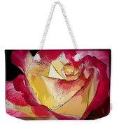 Rasberries And Cream Painterly Weekender Tote Bag
