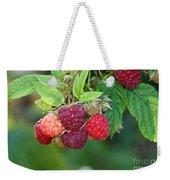 Rasberries Weekender Tote Bag