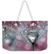 Rasberry Sparkles Weekender Tote Bag