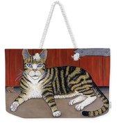 Rascal The Cat Weekender Tote Bag