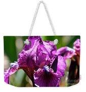 Raspberry Jam Iris Weekender Tote Bag
