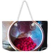 Raspberry Reflections Weekender Tote Bag