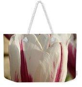 Raspberry Vanilla Tulip Weekender Tote Bag