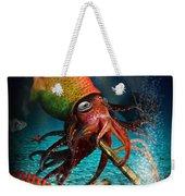 Rasta Squid Weekender Tote Bag