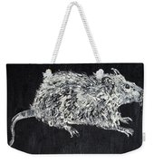 Rat - Oil Portrait Weekender Tote Bag
