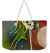 Rat Rod Antenna Skull  Weekender Tote Bag