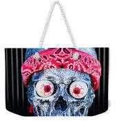 Rat Rod Skull Hood Ornament 2 Weekender Tote Bag