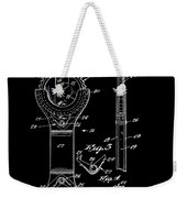 Ratchet Wrench Patent Weekender Tote Bag