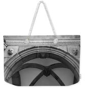 Rathaus Arch Bw Cologne Germany Weekender Tote Bag