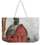 Raven And The Red Barn Weekender Tote Bag